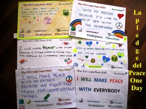 3-La pledge di Peace One Day