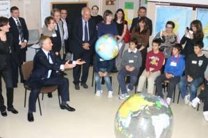Mr. Blair incontra gli allievi dell'IC Settembrini - Roma, Novembre 2012
